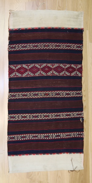 R9026 Beautiful Vintage Turkish Kilim Cicim Rugs
