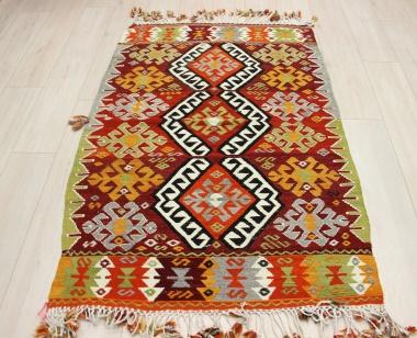 R8933 Beautiful Vintage Turkish Kilim Rugs