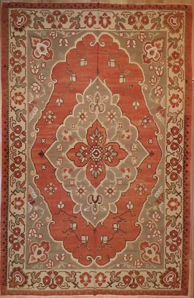 R5081 Antique Bulgarian Kilim Rug