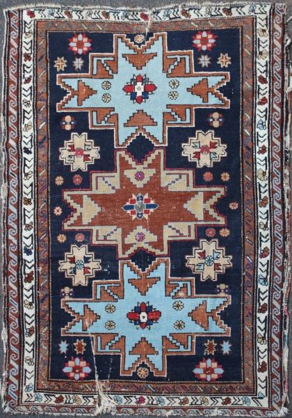 R4511 Caucasian Lesghi Rug