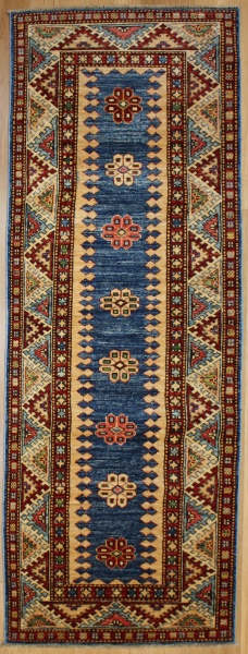 Caucasian Kazak Carpet Runner London R7684