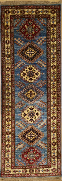 R8288 Caucasian Kazak Carpet Runners