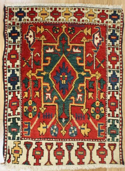 Antique Caucasian Kazak Rug R7707