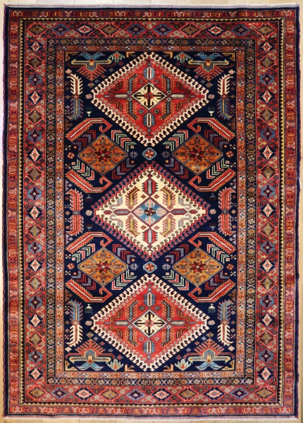 R6731 Caucasian Shirvan Rug