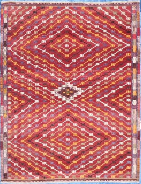 R7157 Beautiful Anatolian Cicim Rugs