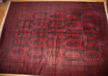 Decorative hand woven Afghan Belouch Carpets R7790