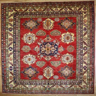 Decorative Handmade Caucasian Kazak Carpet R7699
