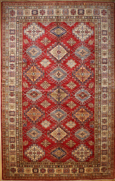 R8380 Decorative Handmade Kazak Carpets