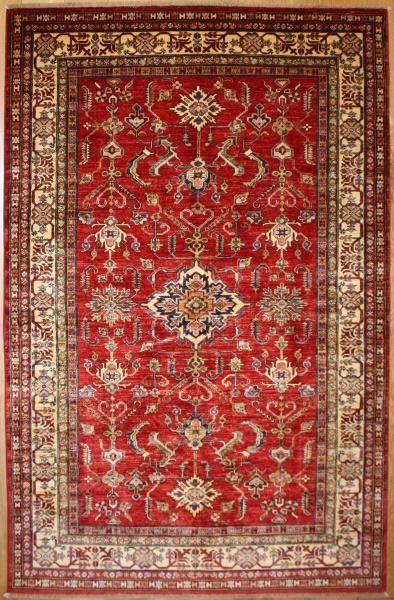 R8381 Decorative Handmade Kazak Carpets