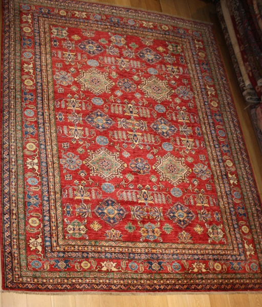 R8383 Decorative Handmade Kazak Carpets