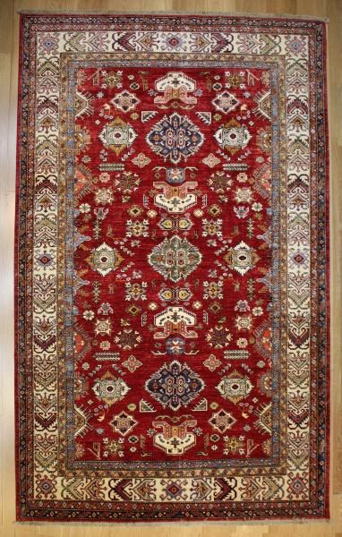 R8384 Decorative Handmade Kazak Carpets