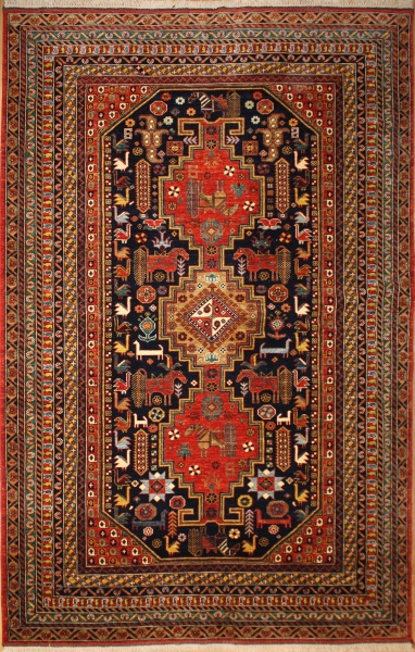 R8378 Decorative Handmade Persian Carpet