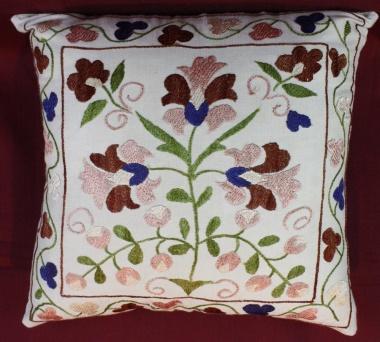 C15 Decorative Silk Suzani Cushion