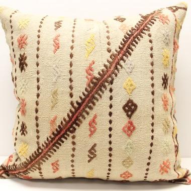 XL337 Decorative Turkish Kilim Cushion Cover