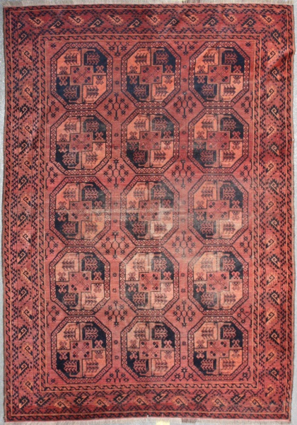 R381 Beautiful Antique Ersari Carpet