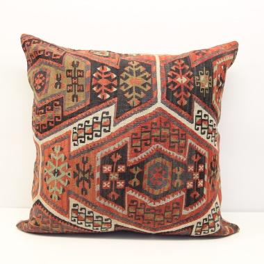 XL327 Extra Large Turkish Antique Kilim Cushion Cover