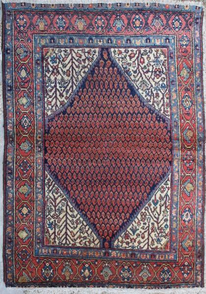 R1318 Beautiful Antique Feraghan Rug