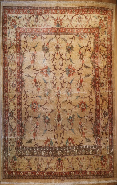 R5834 Fine Persian Tabriz Carpet