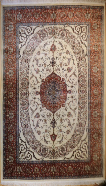 R6459 Fine Persian Tabriz Carpet
