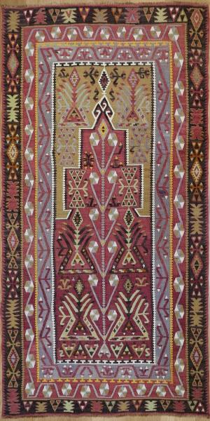 R9152 Flat Weave Turkish Kilim rugs