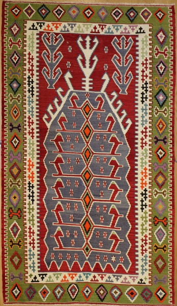 R9166 Flat Weave Turkish Kilim rugs