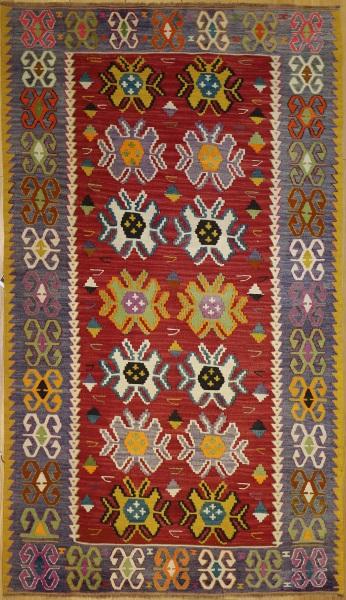 R9172 Flat Weave Turkish Kilim Rugs