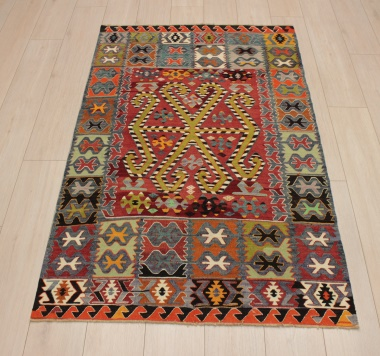 R9173 Flat Weave Turkish Kilim rugs