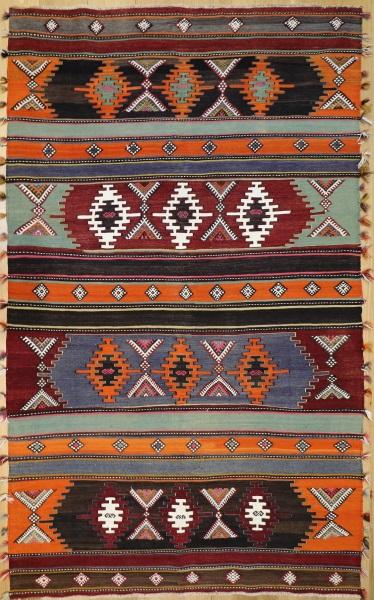R9174 Flat Weave Turkish Kilim rugs