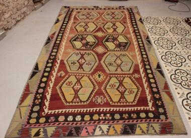 R9182 Flat Weave Turkish Kilim rugs