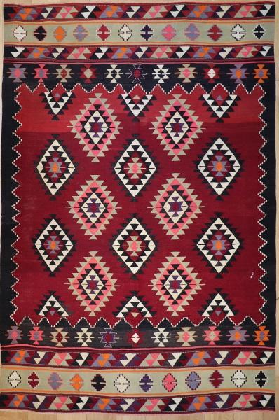 R9185 Flat Weave Turkish Kilim rugs