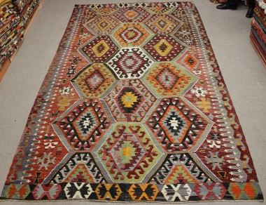 R8772 Flat Weave Turkish Kilim rugs