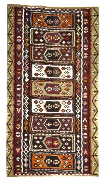 R8773 Flat Weave Turkish Kilim rugs