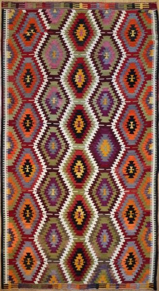 R8774 Flat Weave Turkish Kilim rugs
