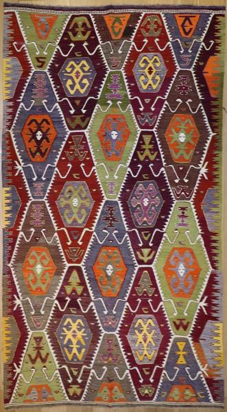 R9137 Flatweave Kilim Rugs
