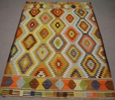 R8551 Flatweave Kilim Rugs