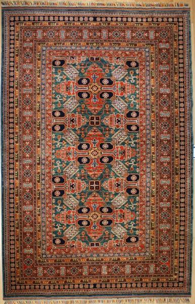 R8287 Gorgeous Caucasian Kazak Carpets