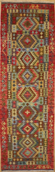 R8856 Gorgeous Hand woven New Afghan Kilim Runners