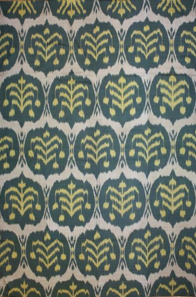 R8321 Gorgeous Hand woven silk Ikat Textiles