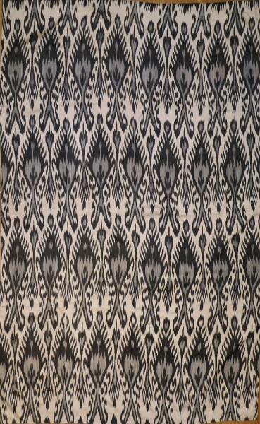 R8322 Gorgeous Hand woven silk Ikat Textiles