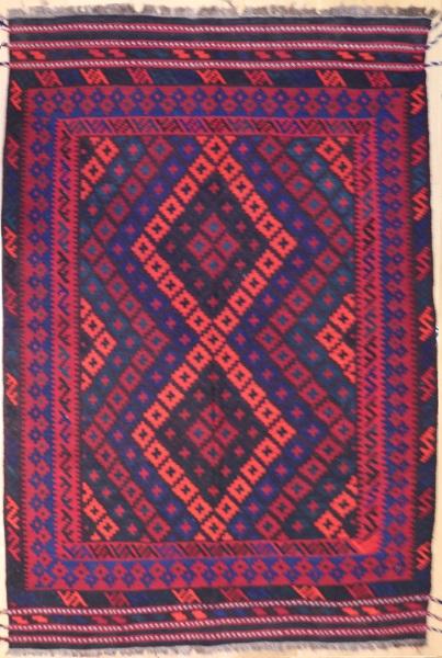 R9109 New Afghan Kilim Rug