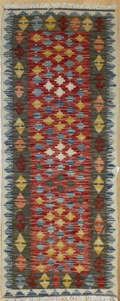 R9113 Gorgeous New Afghan Kilim Runners