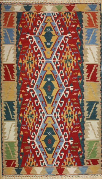 R8255 Gorgeous New Kilim Rugs