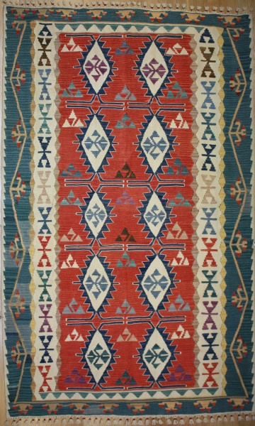 R8258 Gorgeous New Kilim Rugs
