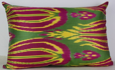 i46 Gorgeous Silk Ikat Cushion Pillow Covers