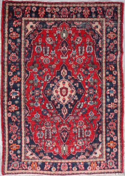 R6892 Persian Hamadan Carpet