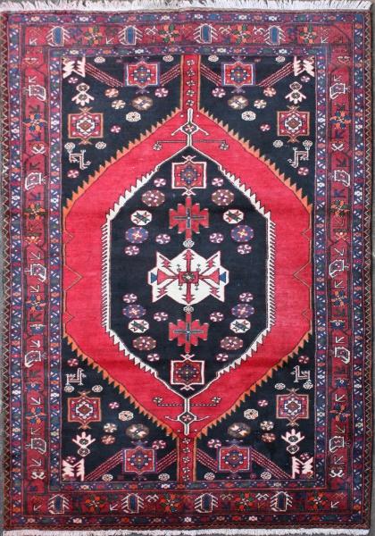 R1411 Old Persian Hamadan Rug