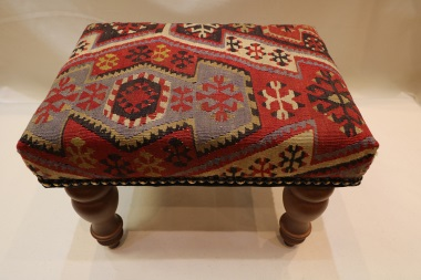 R4534 Hand Woven Kilim Footstools