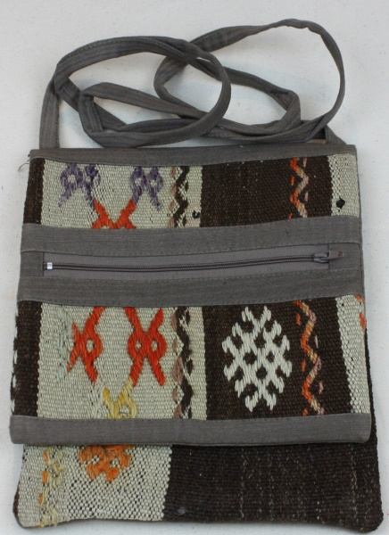 Hand Woven Kilim Handbag H34