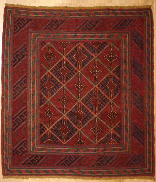 R8389 Hand Woven Tribal and Village Afghan Rugs