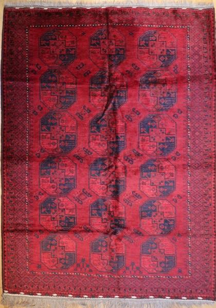 R8784 Hand Woven Turkmenistan Ersari Carpet